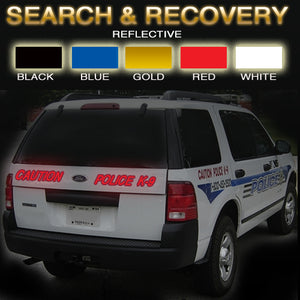 Search & Recovery | Reflective Vinyl Vehicle Decal