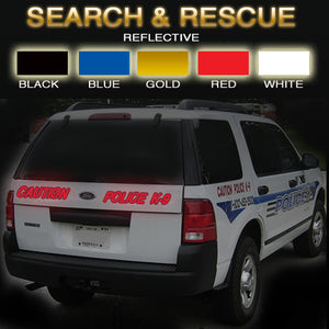 Search & Rescue | Reflective Vinyl Vehicle Decal