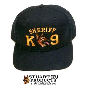 Sheriff K9 w/ Dog Breed Embroidered Ball Cap