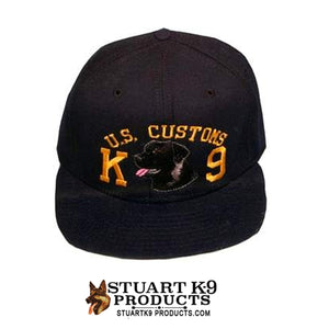 US Customs K9 Embroidered Ball Cap
