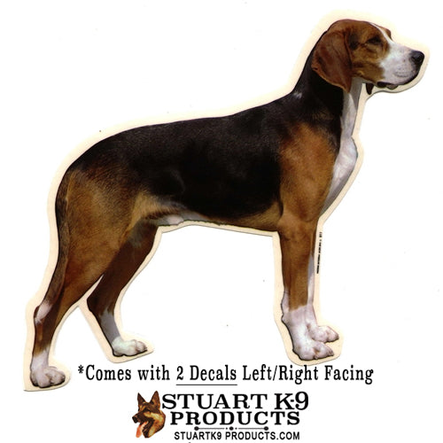 Beagle Full Body Decal | Pair
