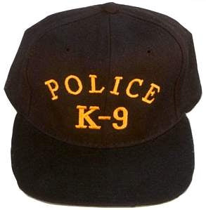Police K-9 Embroidered Ball Cap