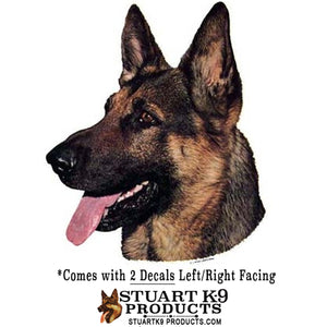 German Shepherd Head | Left  Facing Only