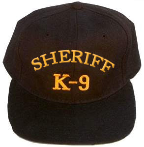 Sheriff K-9 Embroidered Ball Cap