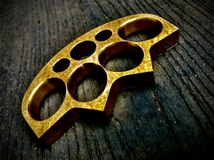 "1/2"" THICK FULL BRASS KNUCKLE CROWN"