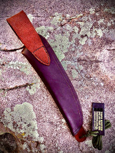 TOPS LEATHER BELT SHEATH FOR US COMBAT KNIFE