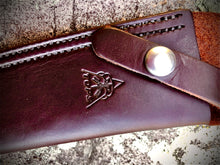 Load image into Gallery viewer, TOPS LEATHER BELT SHEATH FOR US COMBAT KNIFE