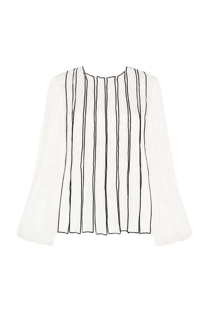 Banksia Strip Blouse