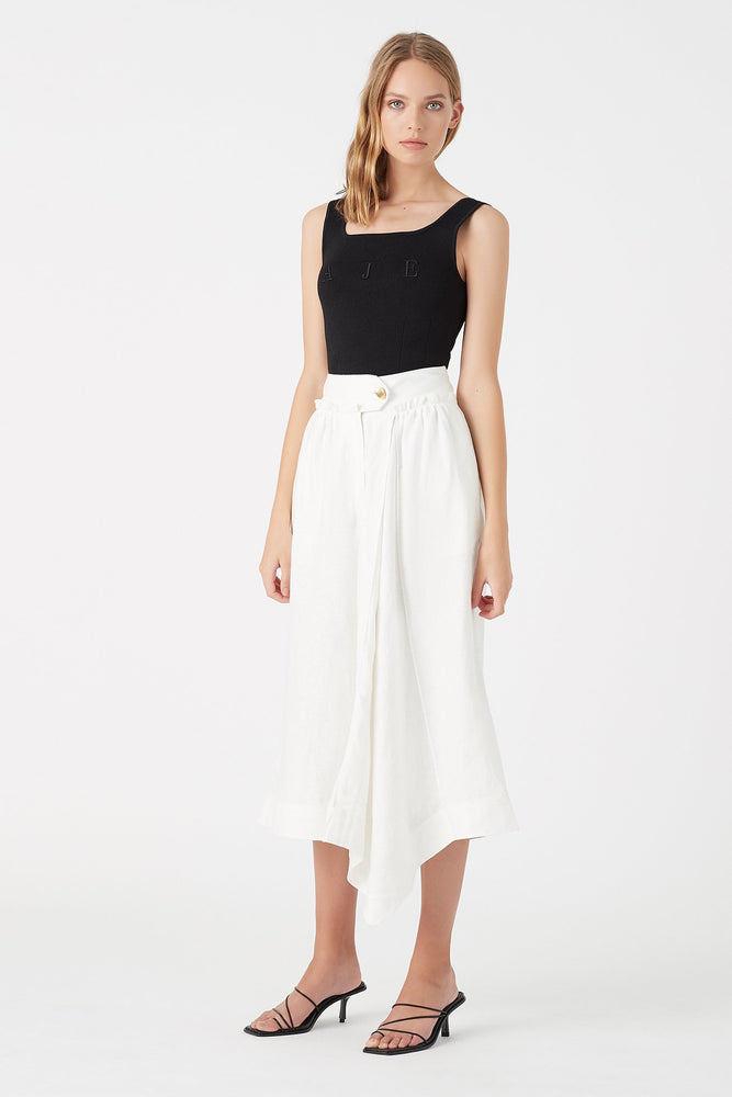 Mimosa Pleated Culotte