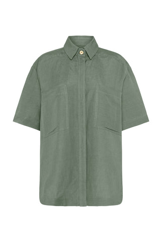 Paperbark Pocket Shirt