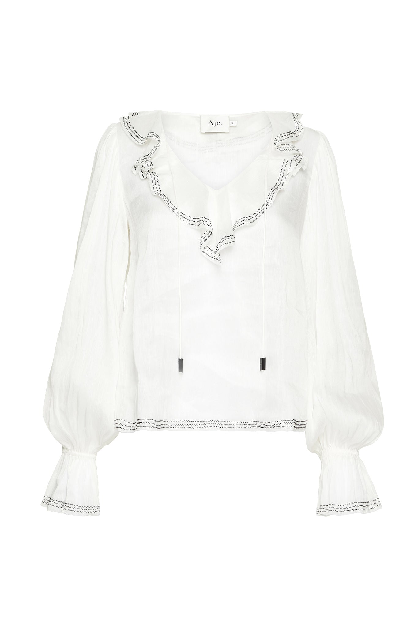 Banksia Frill Blouse Product View