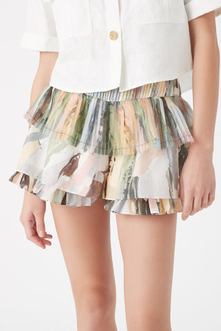 Paperbark Pleat Short