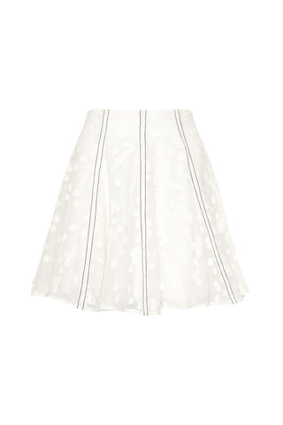 Banksia Burnout Mini Skirt