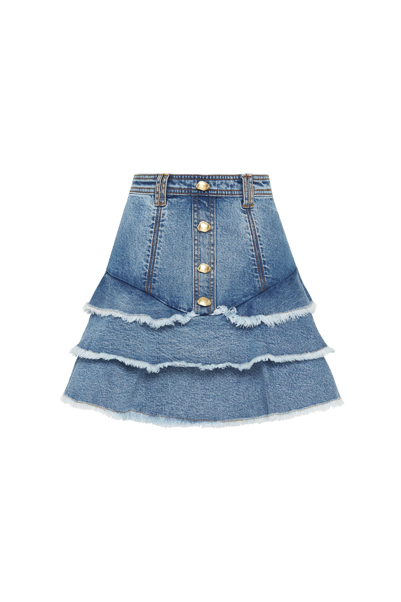 Claudia Denim Skirt Product View