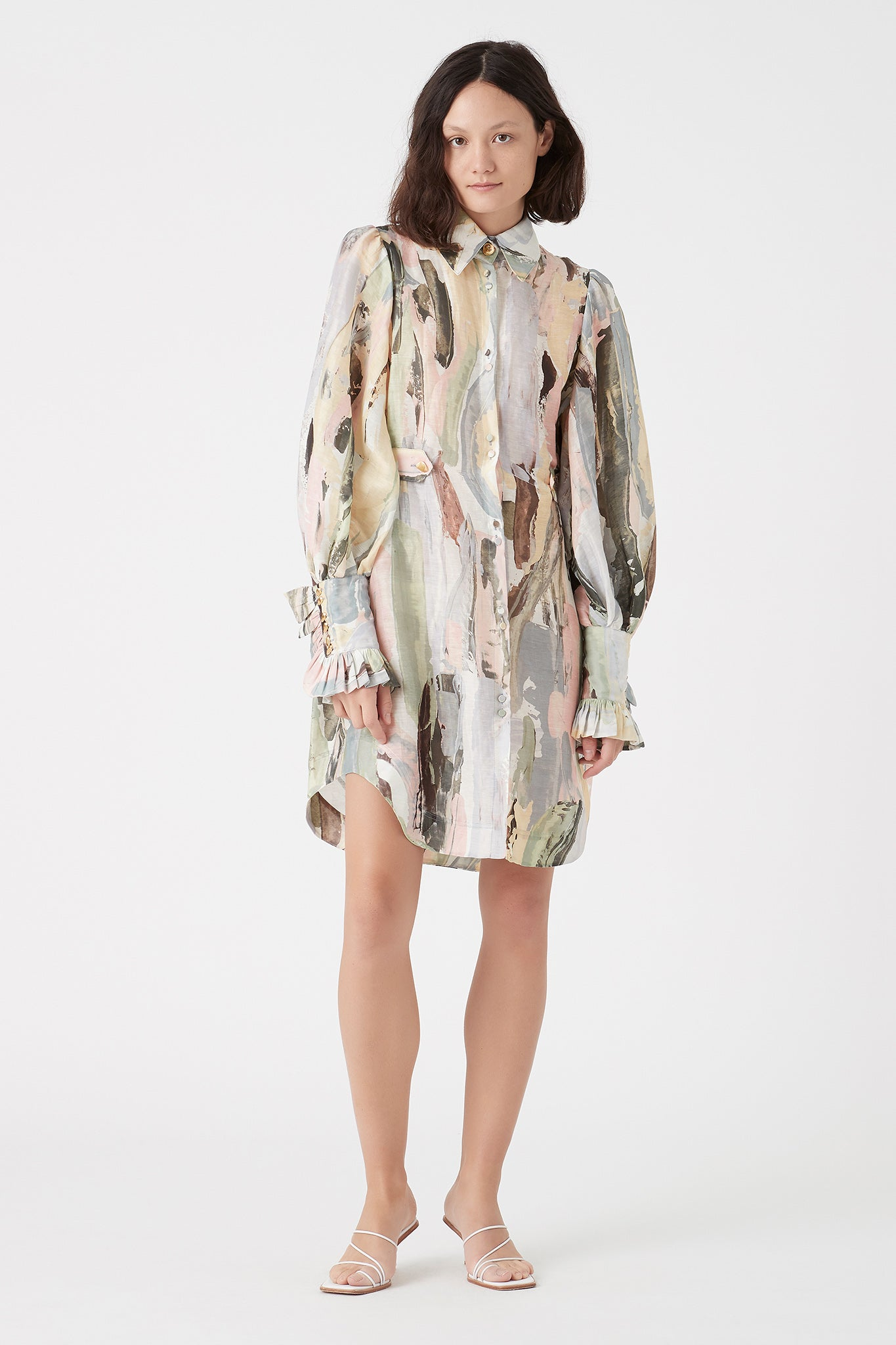 Paperbark Shirt Dress Outfit View