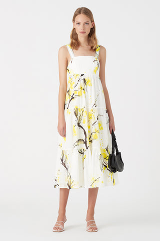 Mimosa Bandeau Midi Dress