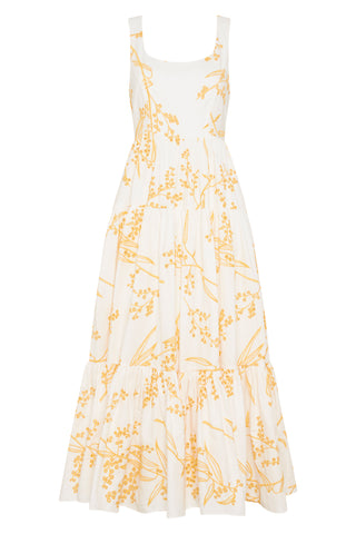 Mimosa Broderie Day Dress
