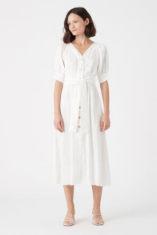 Paperbark Portrait Midi Dress
