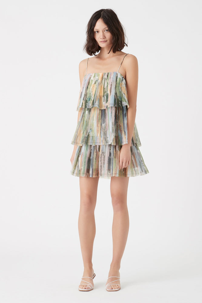 Paperbark Sunray Mini Dress