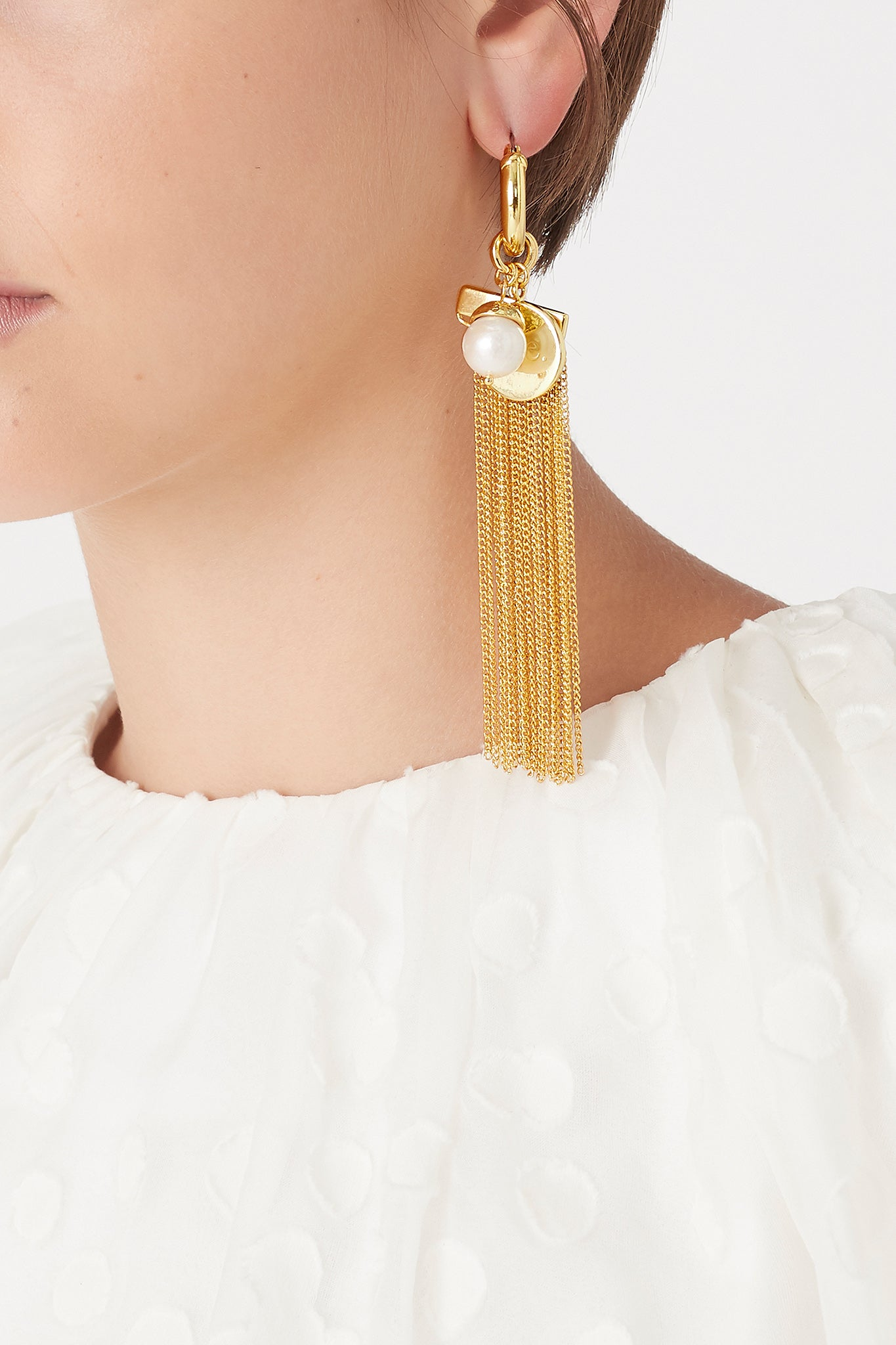 The Tassel Hoops Product View