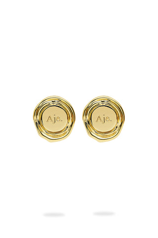 The Aje Button Studs