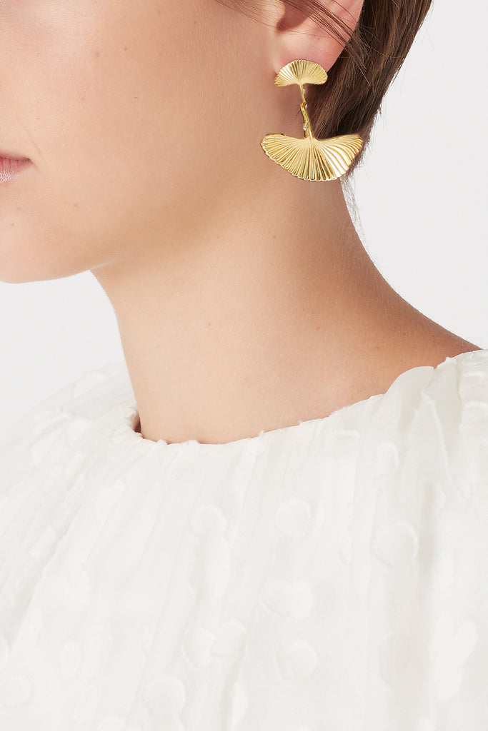 The Petal Drop Earrings
