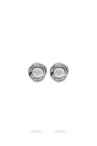 The Aje Button Mini Studs