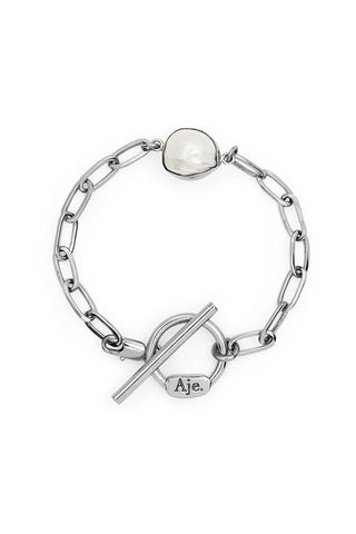 The Pearl and Fob Bracelet