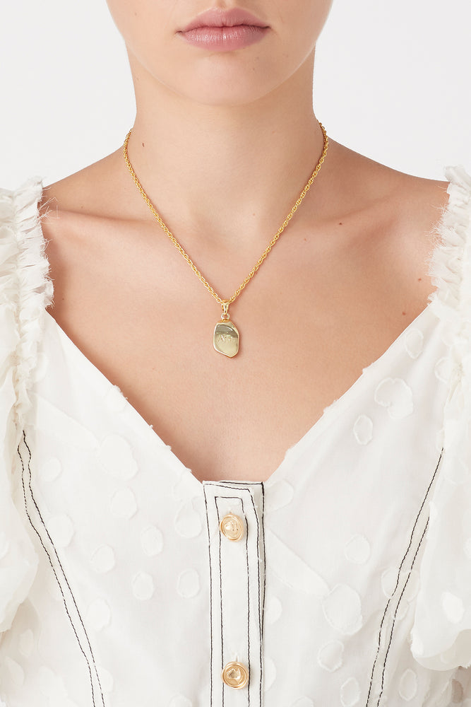 The Leaf Drop Necklace