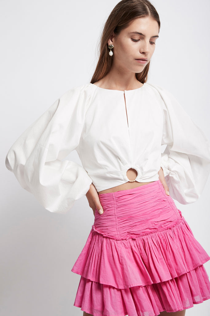 Allegro Ring Crop Blouse