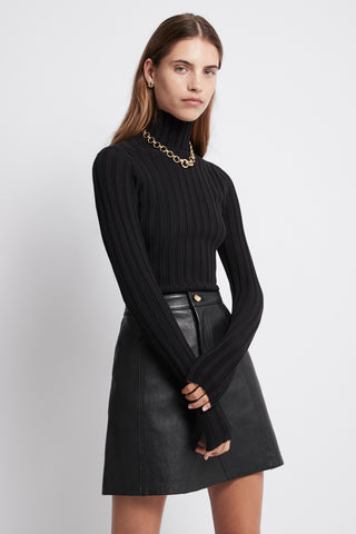 Overture Ribbed Turtleneck