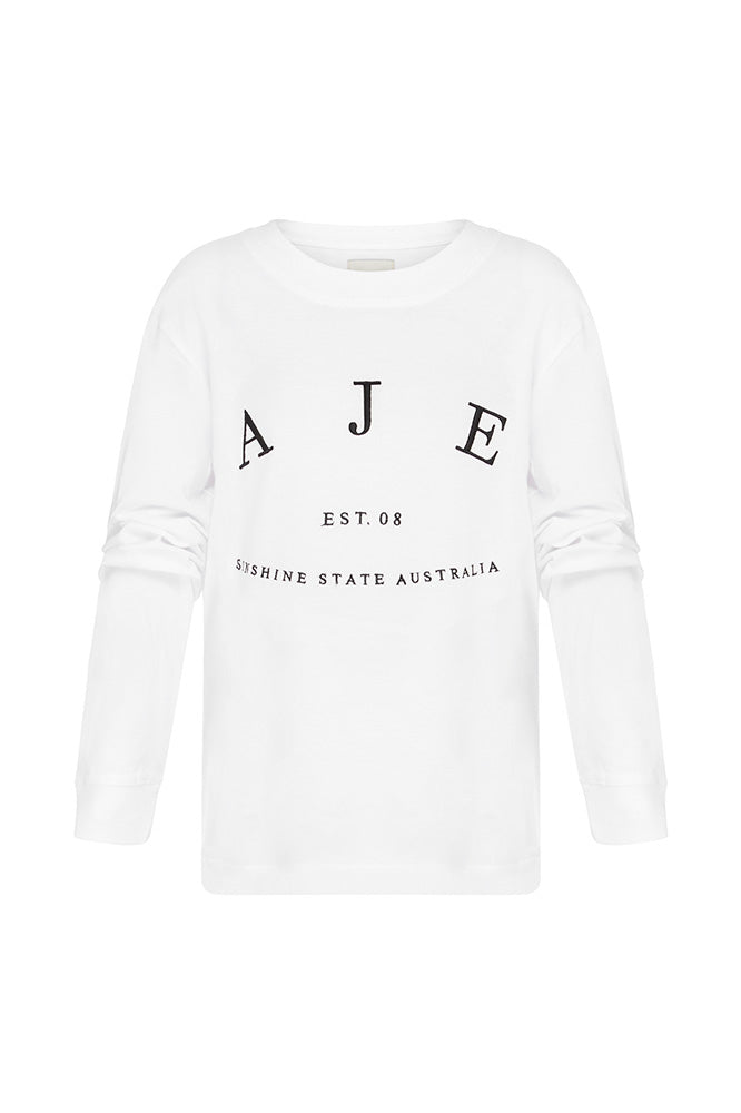 Aje Kids Heritage Logo Tee Outfit View