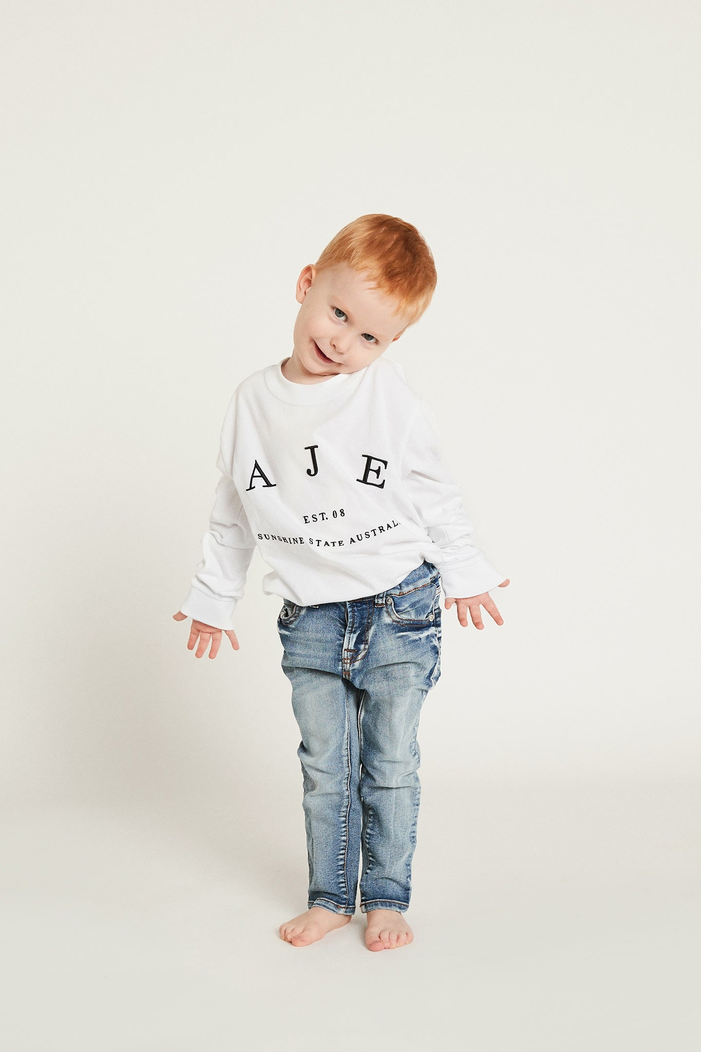 Aje Kids Heritage Logo Tee Product View