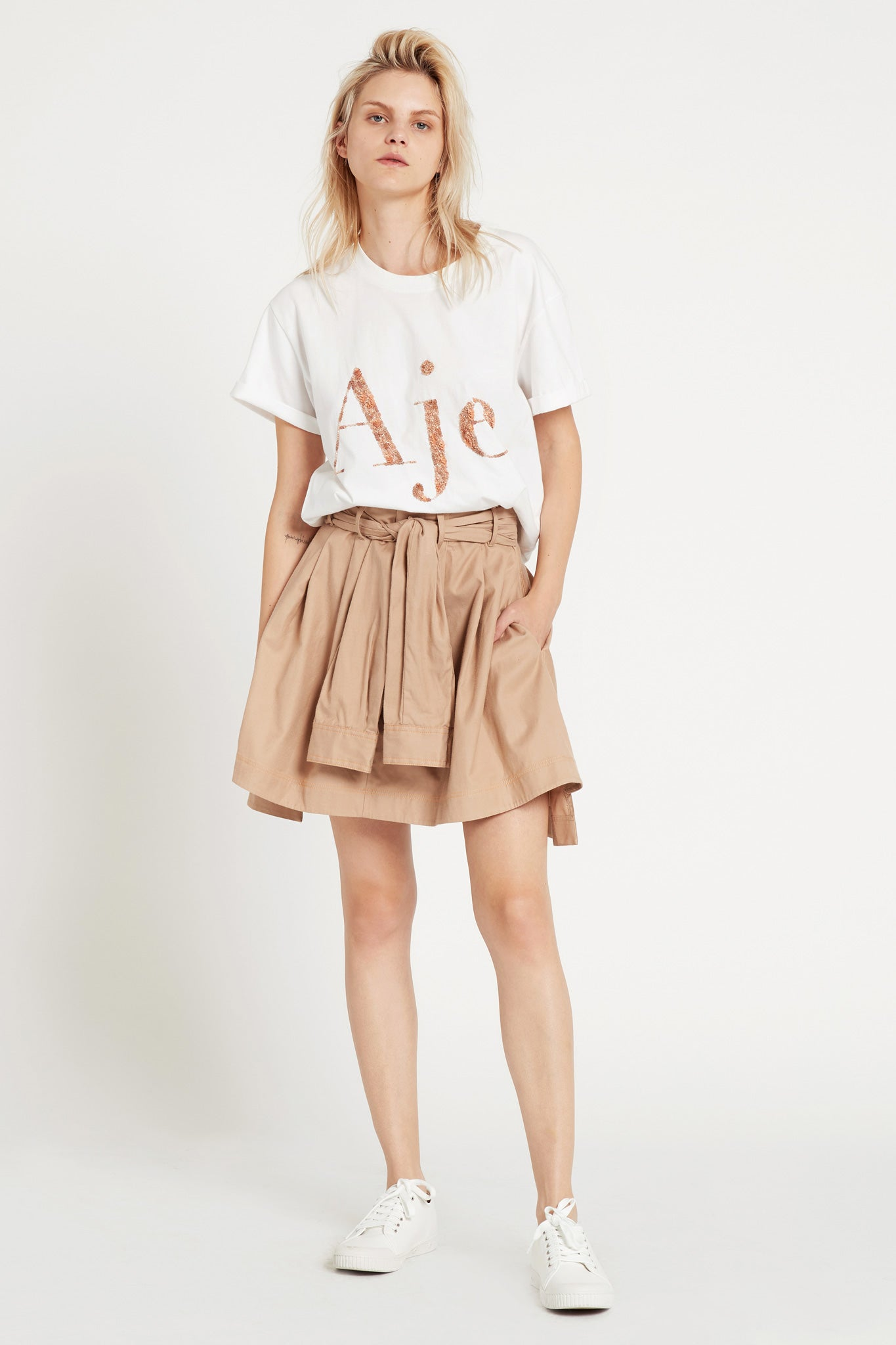 Aje Logo Tee Outfit View