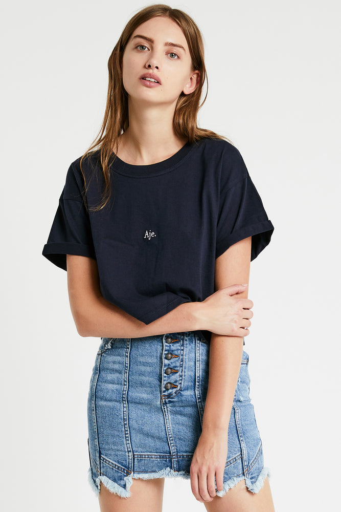 Aje Cropped Tee