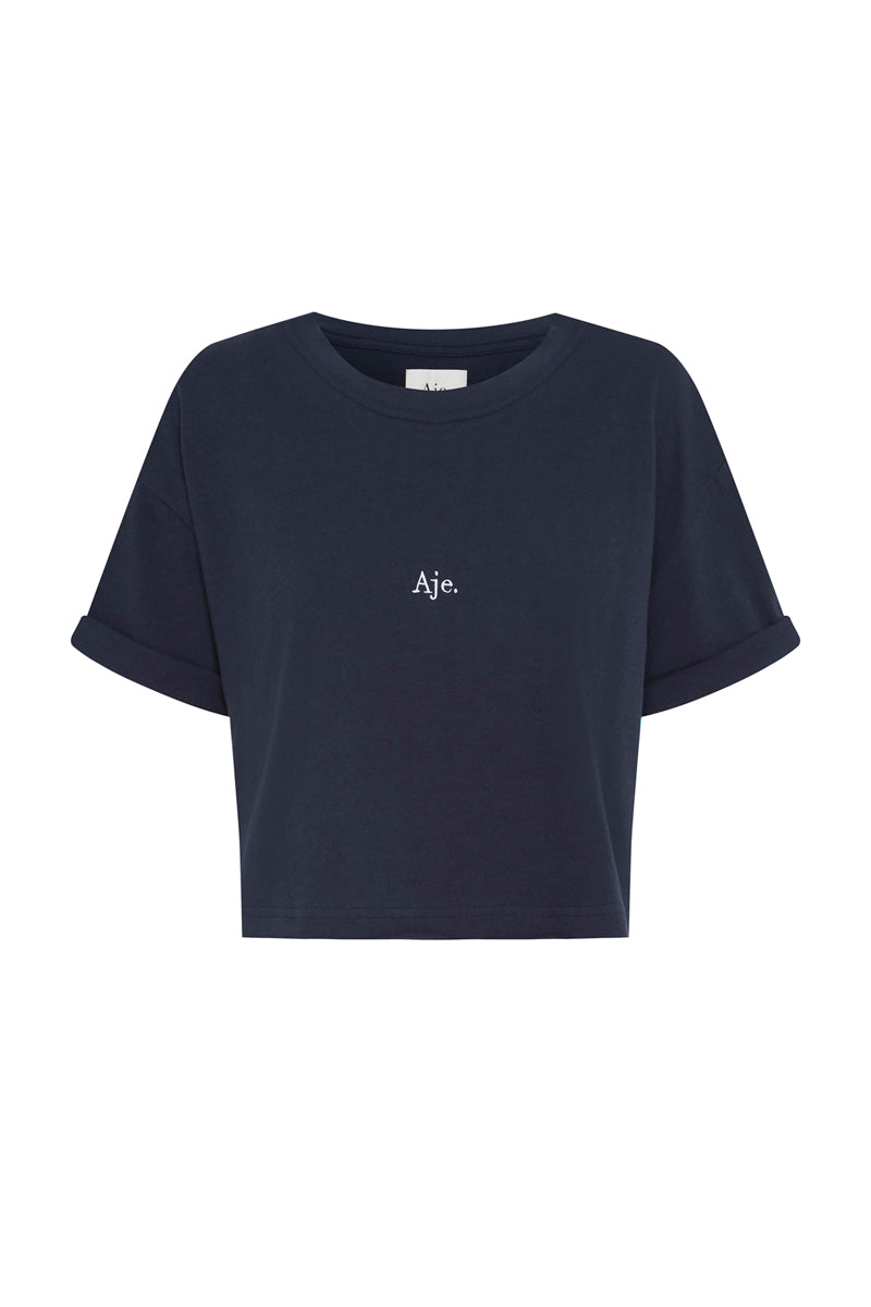 Aje Cropped Tee Product View