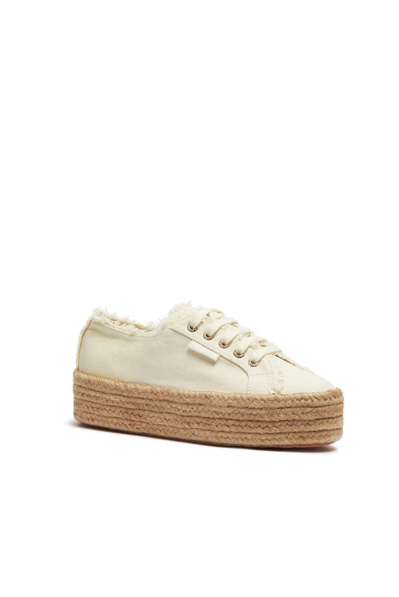 Aje x Superga Natural Platform Outfit View