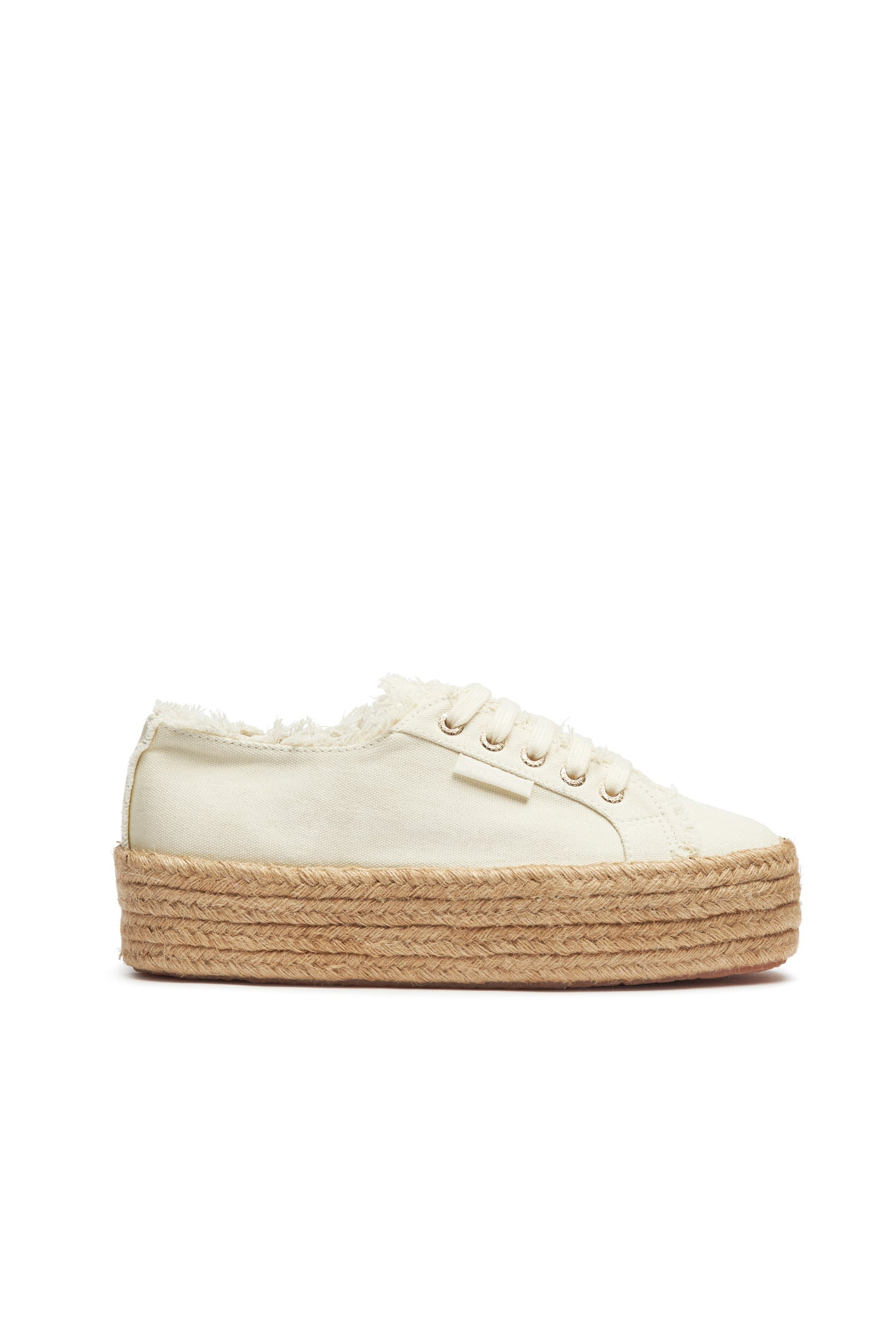 Aje x Superga Natural Platform Product View