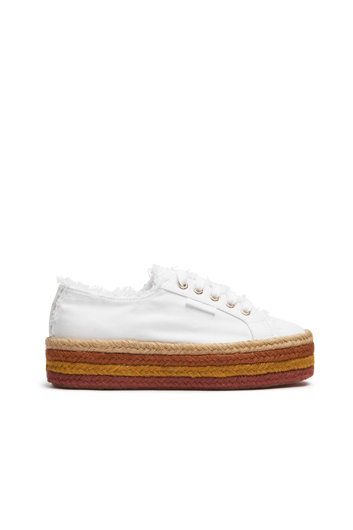 Aje x Superga Stripe Platform Product View