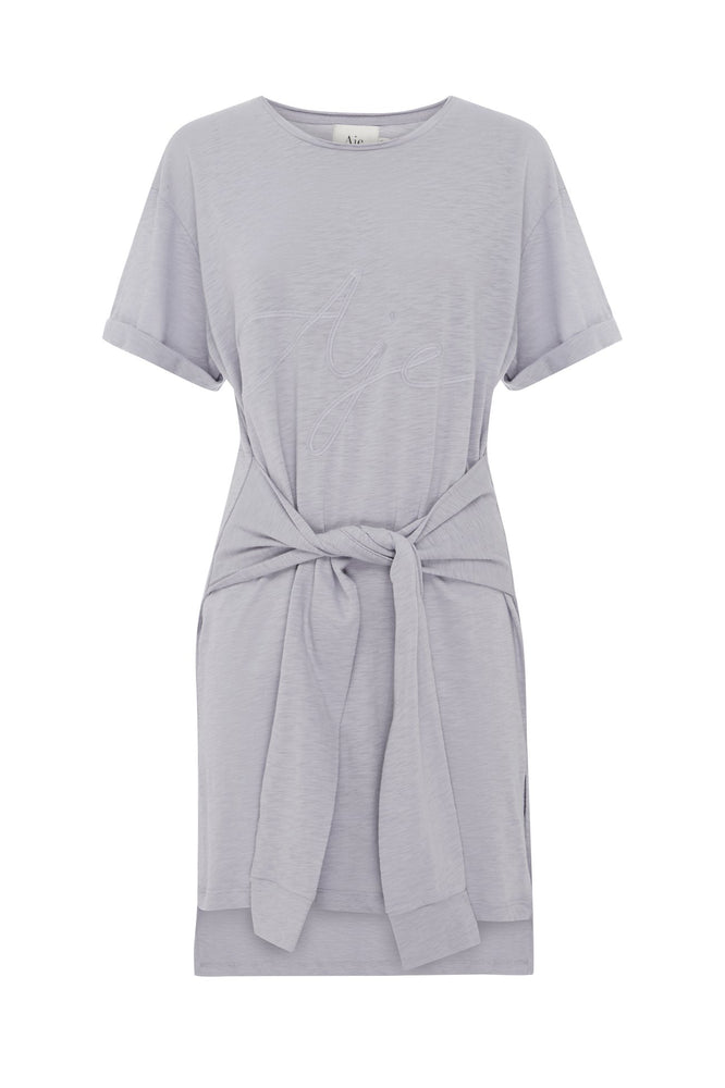 Aje Ribbon Tee Tie Dress