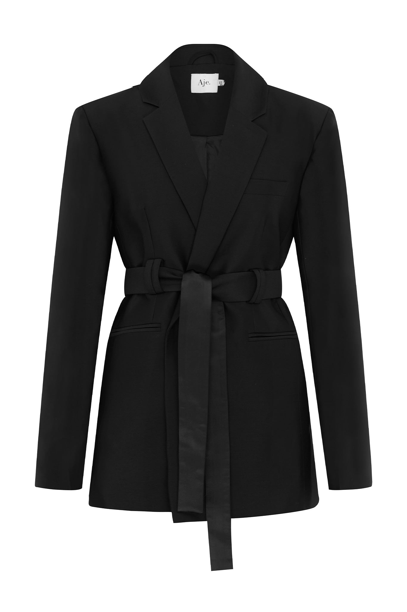 Anne Belted Blazer Product View