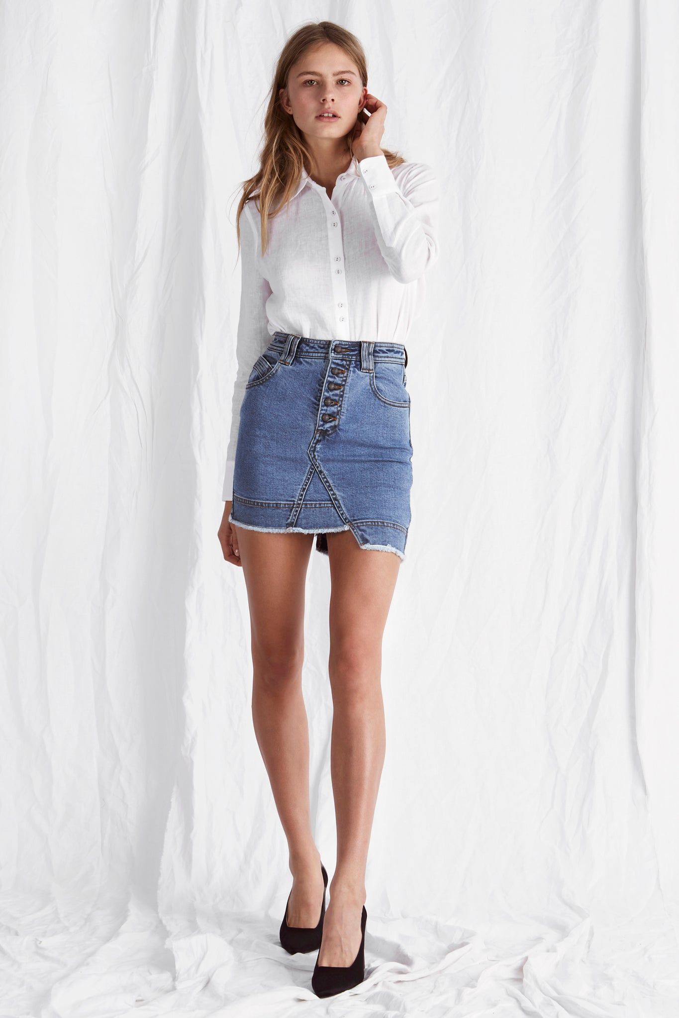 Coulton Mini Skirt Outfit View