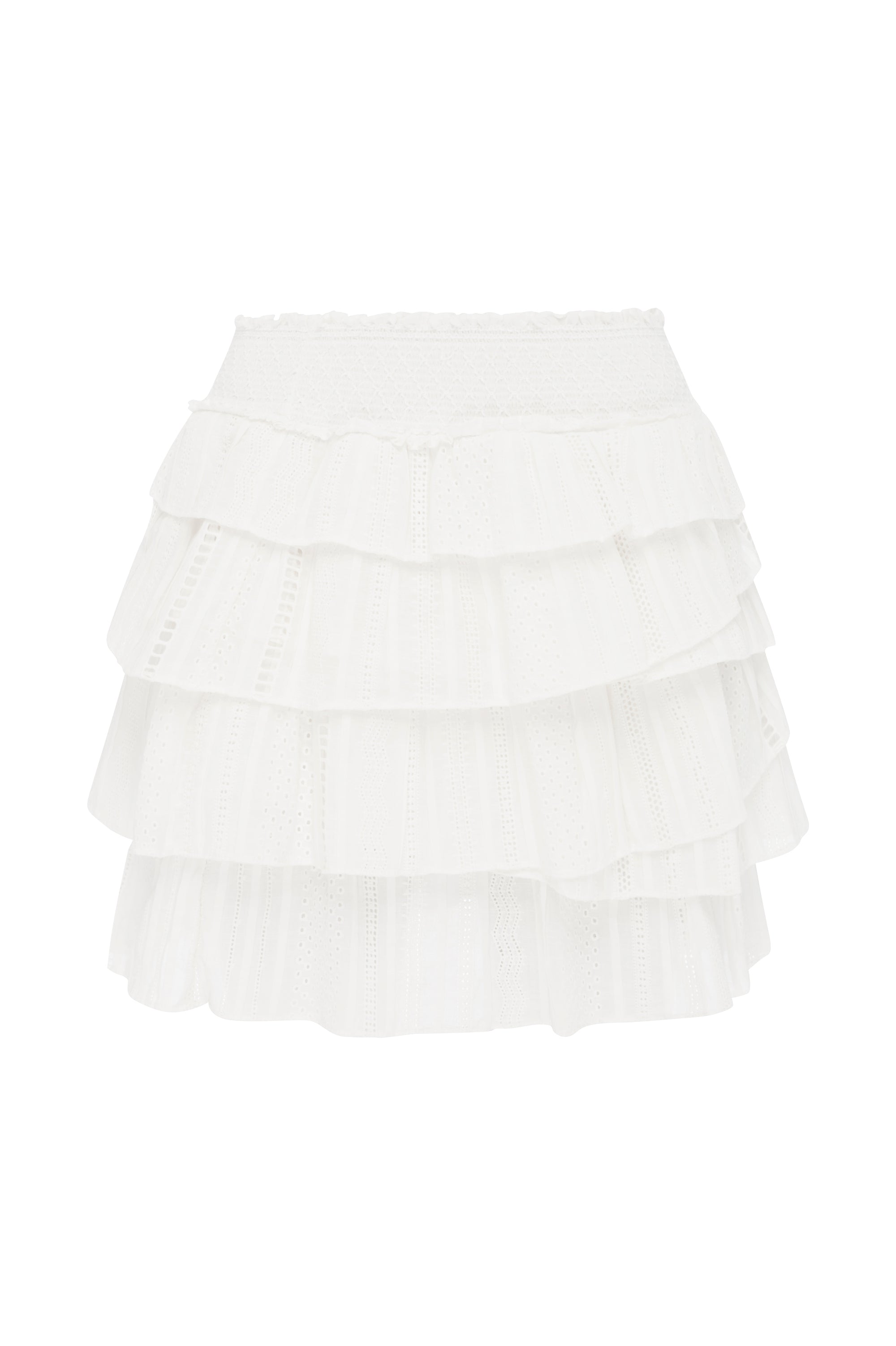 Evans Ruffle Skirt Product View