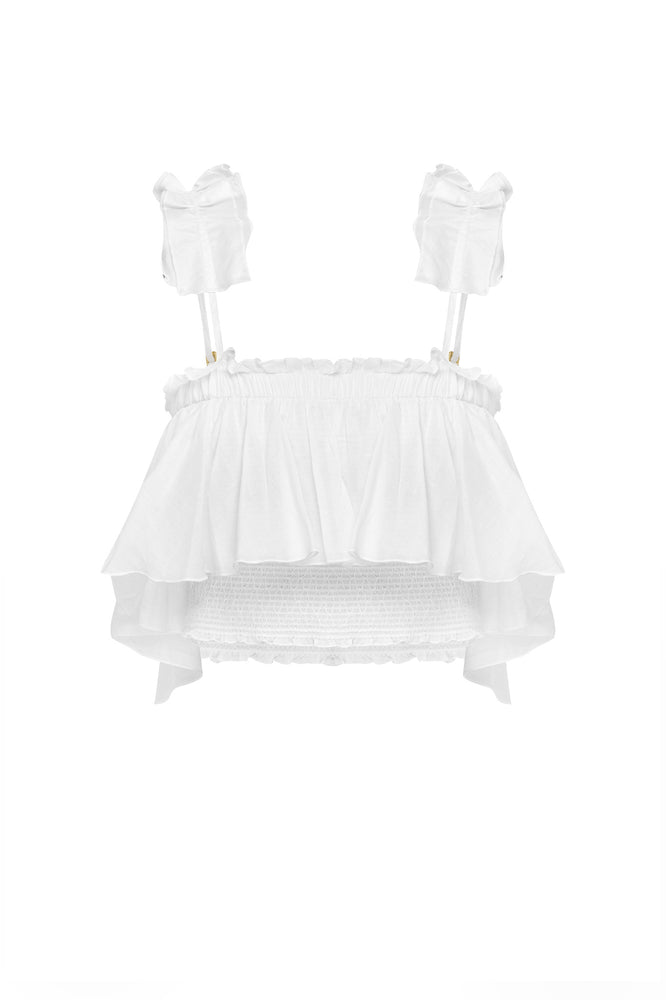 Freesia Smocked Cami