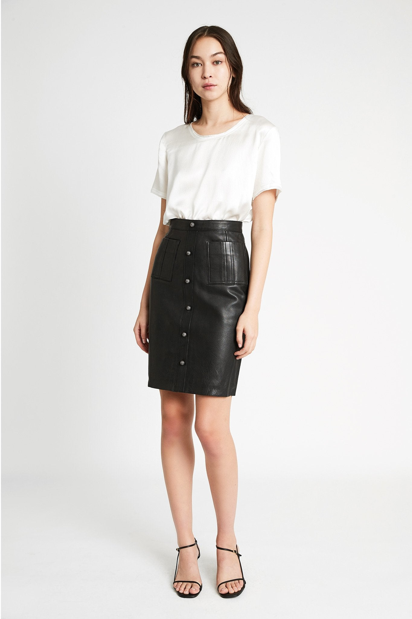 Martin Pencil Skirt Outfit View