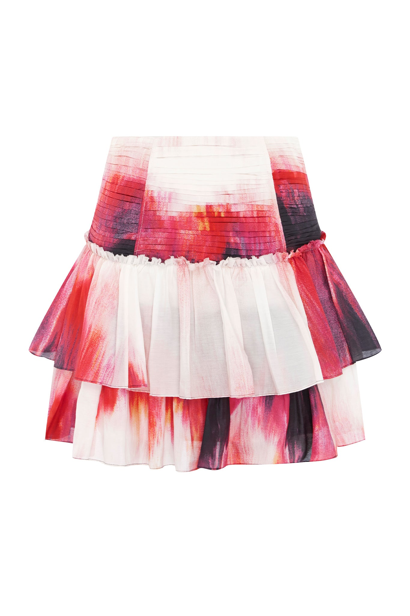 Ottilie Ruffle Mini Skirt Product View