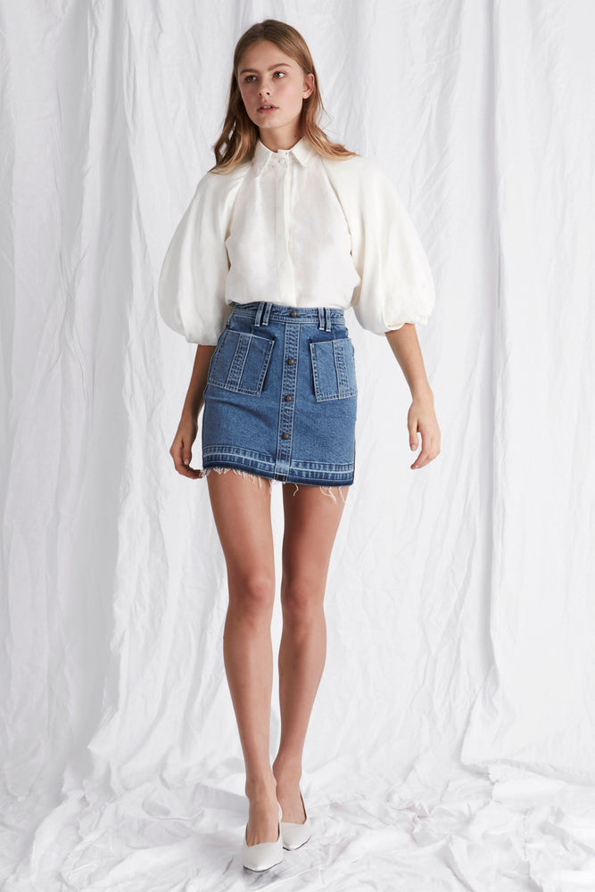 Paloma Denim Mini Skirt
