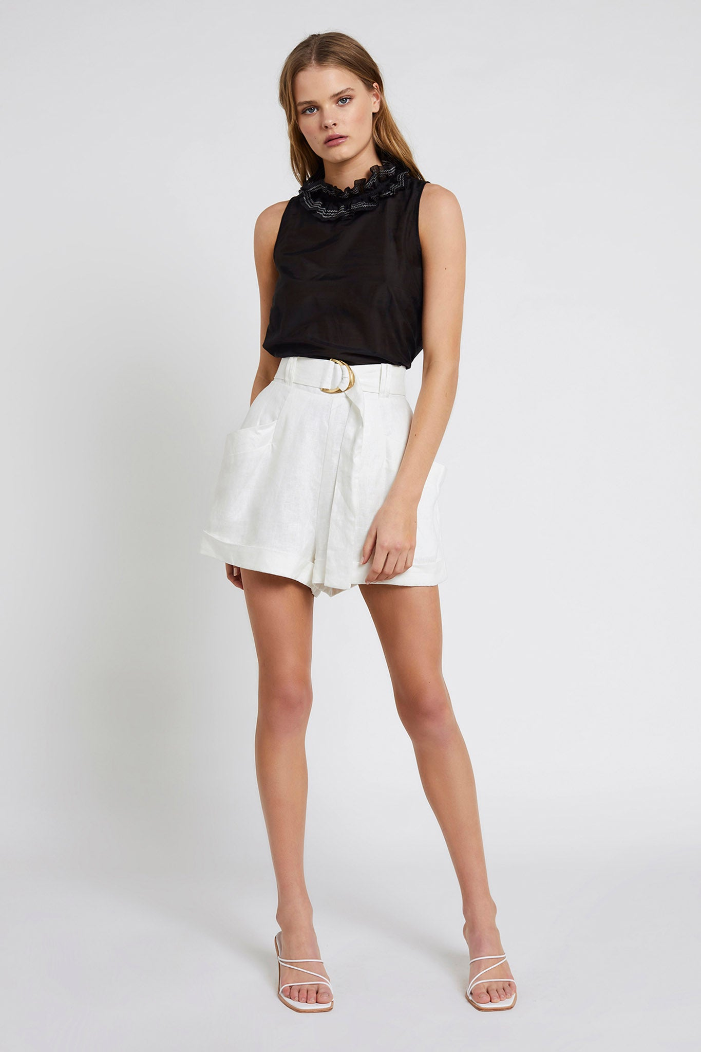 Remy Belted Short Outfit View