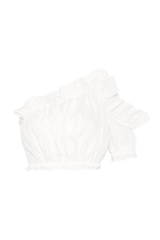 Salt Lake Frill Crop Top
