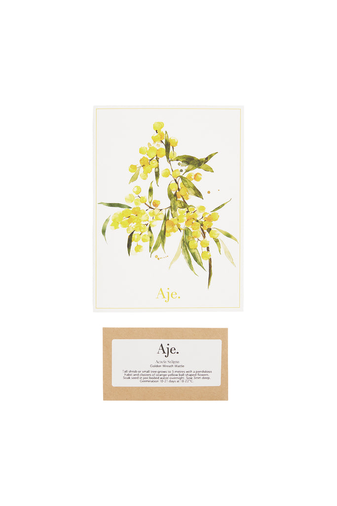 Aje Greeting Card